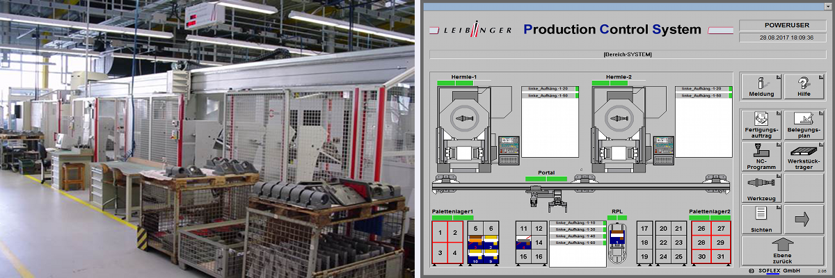 Herstellung von Teilen für Prägemaschinen