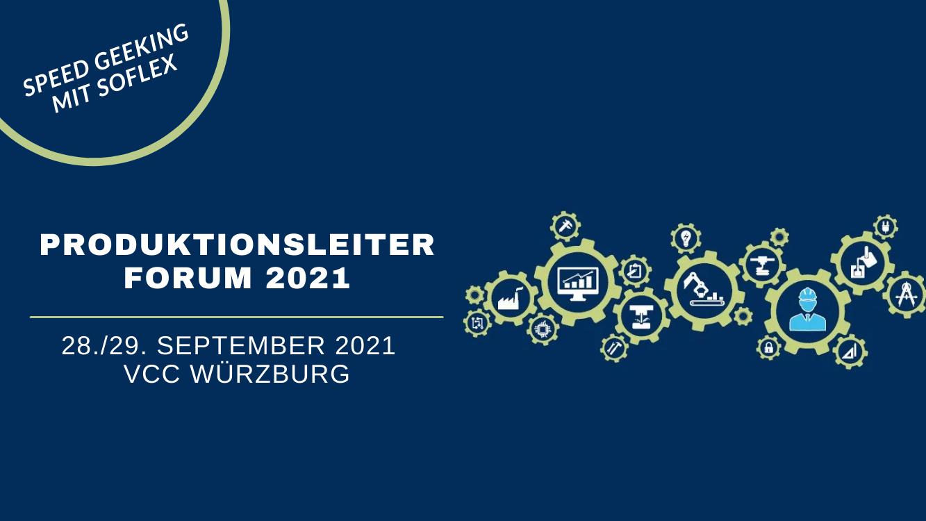 PRODUKTIONSLEITER FORUM 2021 - 28-29.09.2021