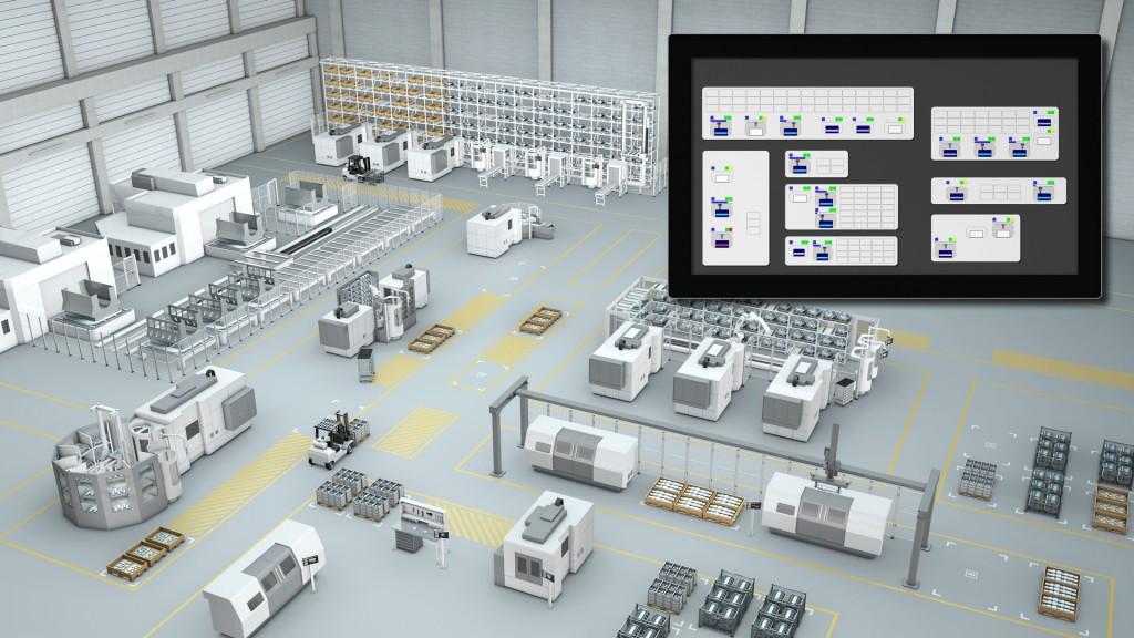Der komplette Guide zum Fertigungsleitsystem - Teil II - Flexible Fertigungsanlagen bestehen in der Regel aus konventionellen Bearbeitungs- / Sondermaschinen und Ein-/Auslagerstationen sowie Lagerbereichen, die zur Zwischenspeicherung und Überbrückung von unbemannten Schichten dienen. Die automatisierte Bereitstellung der Werkstücke übernehmen Roboter oder Palettentransportgeräte. Die Fertigungsabläufe werden durch ein Leitsystem gesteuert, das eine eigenständige Komponente der Anlage ist.